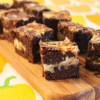 Thumbnail image for Dark Chocolate Citrus Brownies with a Cream Cheese Swirl