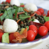 Thumbnail image for Caprese Salad with Fried Capers, Bacon, and Avocado