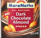 maranatha_dark chocolate almond spread