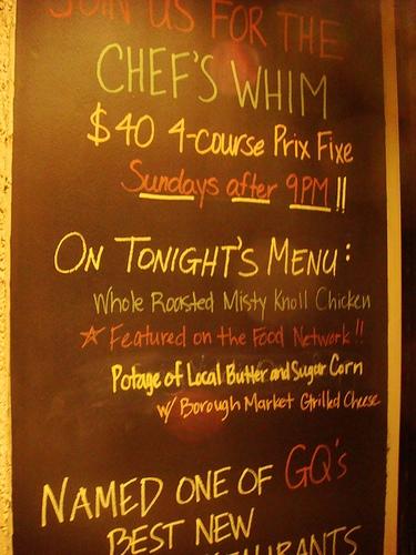 chefs whim