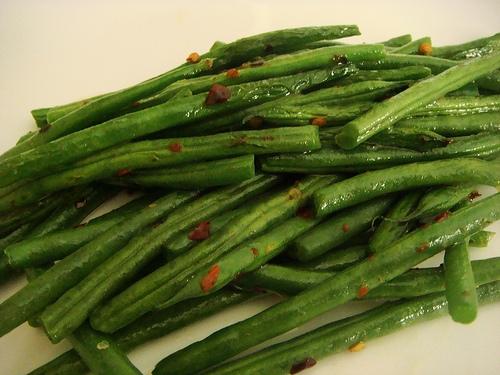 sauteed haricot verts
