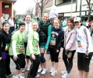 happy runners and brunchers