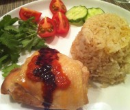 Have you ever had Hainanese Chicken with Rice?