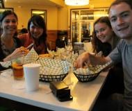 that's Daisy, me, Elizabeth, and Alex