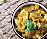 pumpkin tofu curry 5