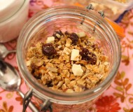 coconut cherry granola