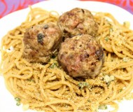 meatballs with prosciutto