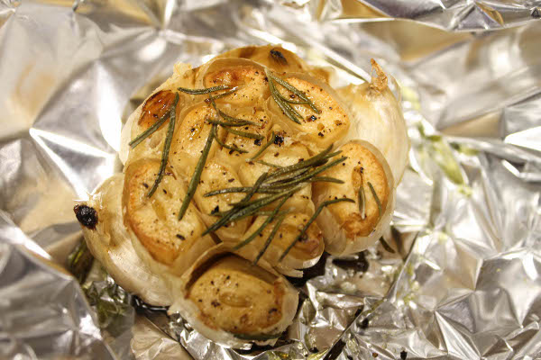 roast garlic