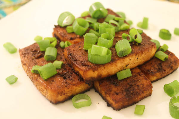 Baked Tofu with Balsamic Glaze - Confessions of a Chocoholic