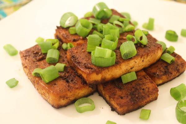 Easy Baked Tofu Salad | Genki Kitty's Blog