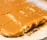 cheesecake dulce de leche bars