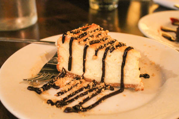 Sweet Ricotta Pie at Abigail's