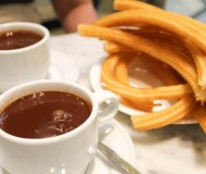 chocolate con churros san gines