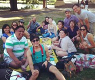 ice cream picnic at the charles river