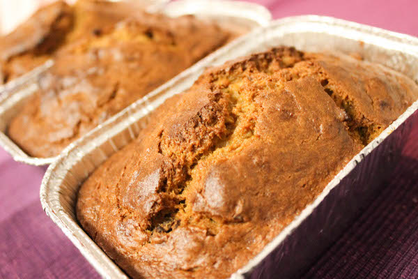 Pumpkin Banana Bread - Confessions of a Chocoholic