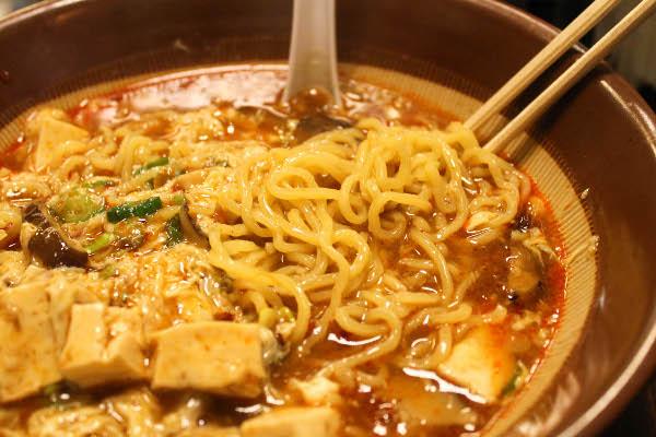 spicy miso butter spicy miso pork ramen noodles instant ramen noodles ...