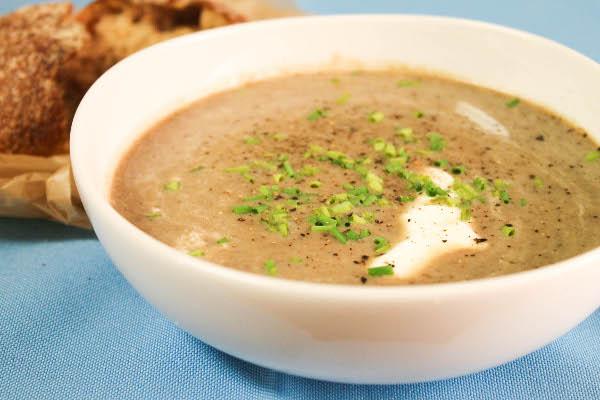 Грибной суп пюре на молоке рецепт