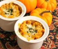 individual pumpkin mac and cheese