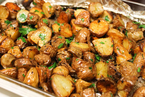 Area Four and Crispy Oven Roasted Potatoes - Confessions of a ...