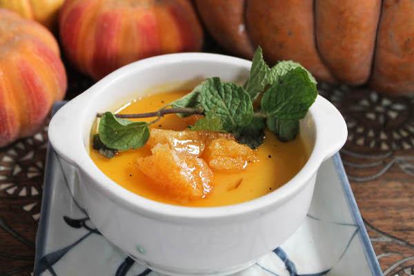 Pumpkin Leche Flan (Kalabasa Leche Flan)