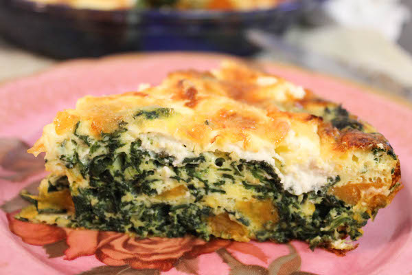 Crustless Sweet Potato and Goat Cheese Quiche - Confessions of a ...