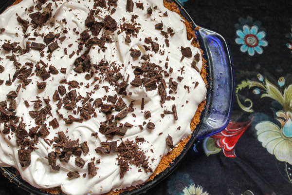 banoffee pie with salted chocolate