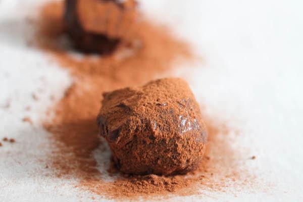 Dark Chocolate Cherry Walnut Truffles Recipes — Dishmaps