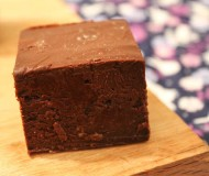 fudgiest dark chocolate brownies