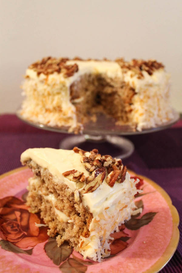 hummingbird cake is a traditional southern cake that s a cross