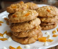 oatmeal mango white chocolate cookies