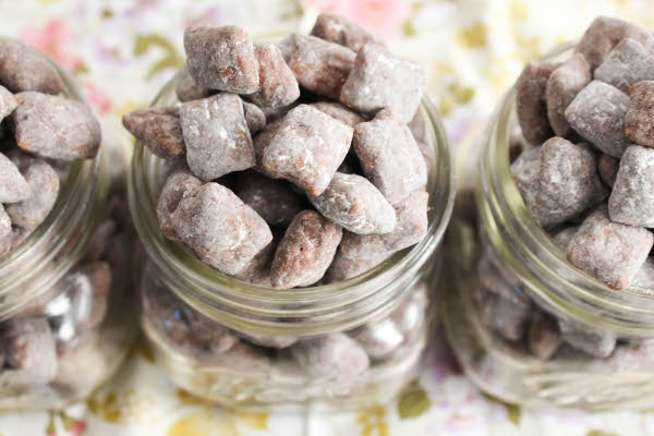 nutella muddy buddies