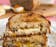 orange marmalade grilled cheese