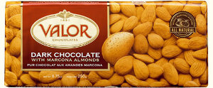 Valor Dark Chocolate with Almonds