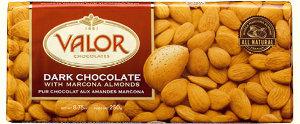 Valor Dark Chocolate with Almonds