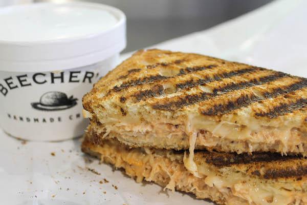 beechers dungeness crab sandwich