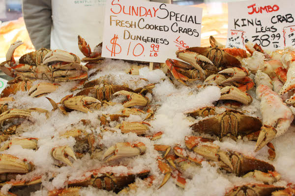 dungeness crab pike place