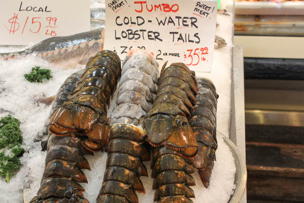 pike place lobster