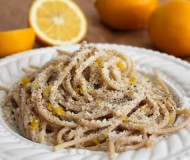 spaghetti with meyer lemon cream sauce