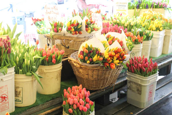 tulips pike place