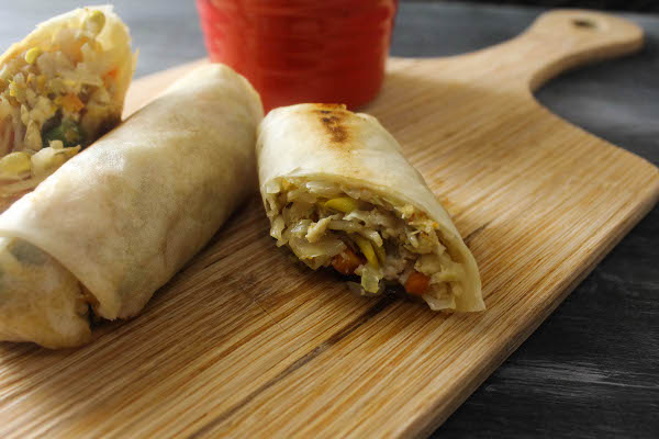 filipino vegetable lumpia