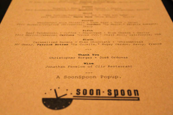 soon spoon phade labs menu