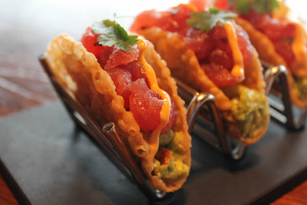 del friscos tuna tacos