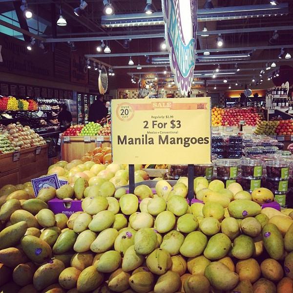 mangoes whole foods