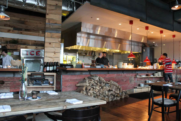la brasa open kitchen