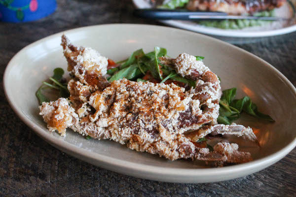 soft shell crab la brasa