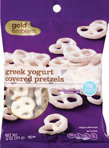 GE Greek Yogurt Covered Pretzels