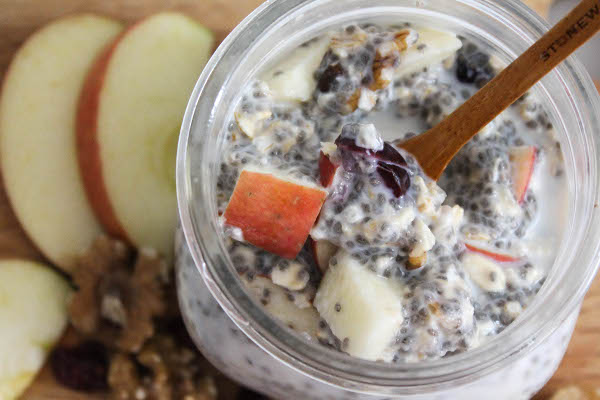 overnight oats with chia