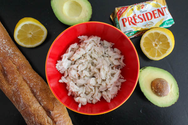 avocado crab toast ingredients