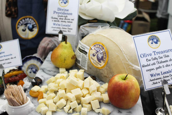 cheese samples narragansett creamery