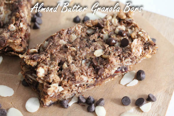 chocolate chip almond butter granola bar